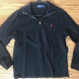 Ralph Lauren Polo quarter zip sweater jacket